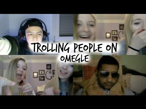 TROLLING PEOPLE ON OMEGLE WITH ADDY MILLER | Caroline Dare