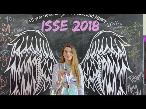 Nail art trends & new products overview at ISSE beauty show