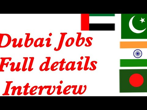 Dubai Jobs Interview || Questions And Answers