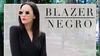 Blazer Negro - #TipsdeModa - ¿Cómo usar un blazer como vestido?