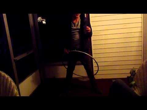 Drunk hula hooping