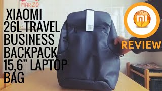 xiaomi 26l travel business backpack 15.6 inch laptop bag Videos ... 8e18ad9c4d