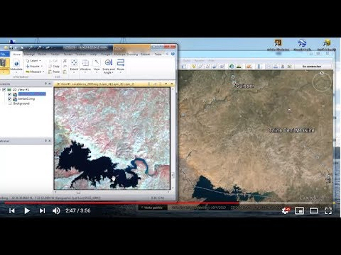 Erdas 2013 :Synchroniser Erdas & Google Earth
