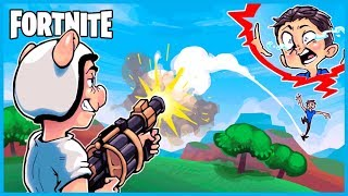 How NOT to GRENADE RIDE in Fortnite: Battle Royale! (Fortnite Funny Moments & Fails)