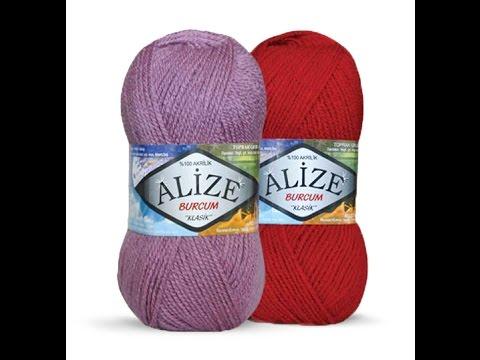 Alize yarn burcum
