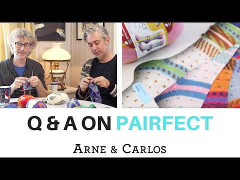 ARNE & CARLOS' Q&A on knitting Pairfect, the easiest socks ever.