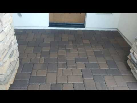 Paver cleaning Pressure Wash Cleaning on T.W. Lewis homes in Arizona