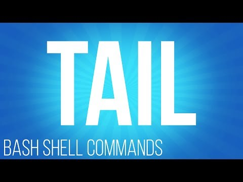 Tail utility. Commands for linux