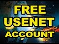 Free Usenet Account Without Registration