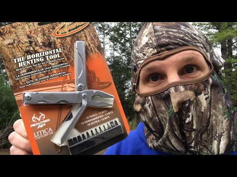 HUNT VAULT Turkey Hunt Edition: Game Calls, Multi-Tool, Poncho, and More