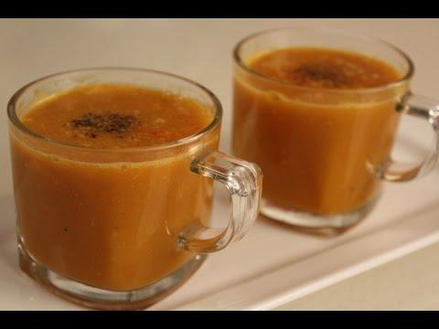 Tomato and Pumpkin Soup | Sanjeev Kapoor Khazana