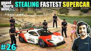 I STOLE SUPERCAR FOR $2000000 RACE | GTA V GAMEPLAY #26