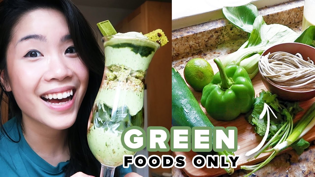 I Only Ate Green Foods For 24 Hours