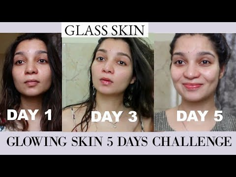 HOW  TO GET GLASS SKIN IN A BUDGET | INSTANT GLOWING SKIN   | TanzWorldd