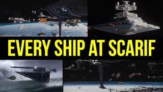 Every Ship at the Battle of Scarif Explained | Star Wars Canon Lore