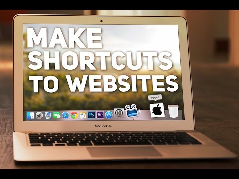 How to make Quick Shortcuts to Websites from your Dock!
