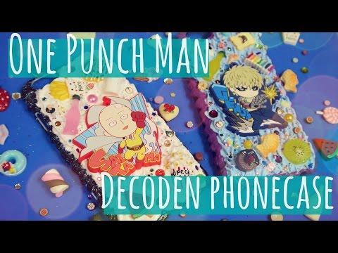 One Punch Man Decoden Phone Case - NerDIY