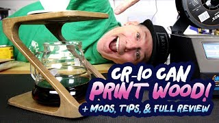 Best 3d Printer? - Creality Cr-10 Prints Wood, Pla, Abs, Tpu - Full Review