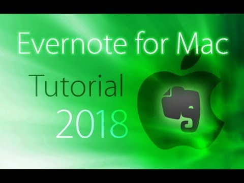 Evernote 2018 - Full Tutorial for Beginners [+General Overview]