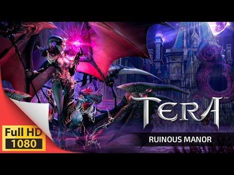 TERA - Ruinous Manor first DLC update - New max level dungeon - PS4 XO