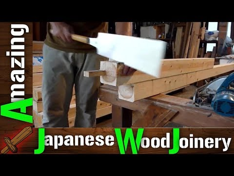 Amazing Woodworking Excellent Techniques - Incredible Carpenter Hand Craft Cutting Skills