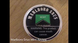 Marlboro Snus Mint Review
