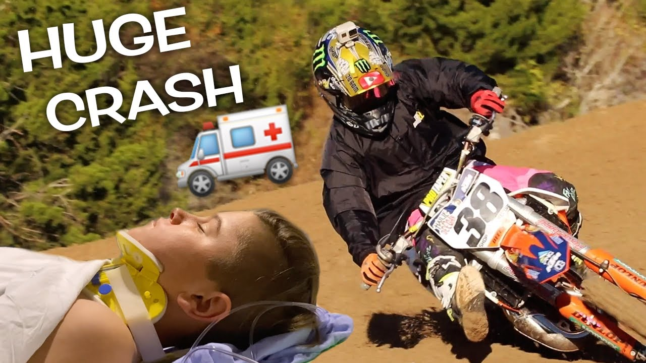 ENDED RACE IN HOSPITAL! DANGERBOY CRASHES AT MINI O'S!