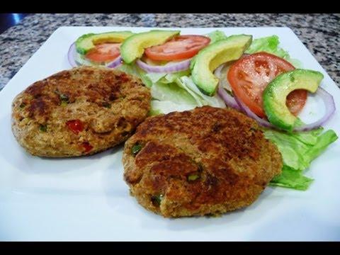 Tuna Patties-Tuna Burgers