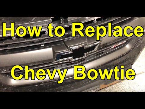 2017 Chevy Colorado - Easy Front Bowtie Swap