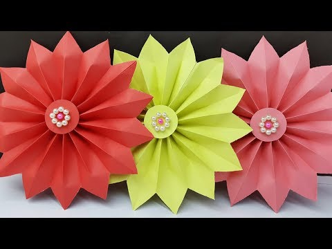 How to make easy paper wall hanging for diwali decoration | Wall Decoration ideas - DIY Wall Hanging