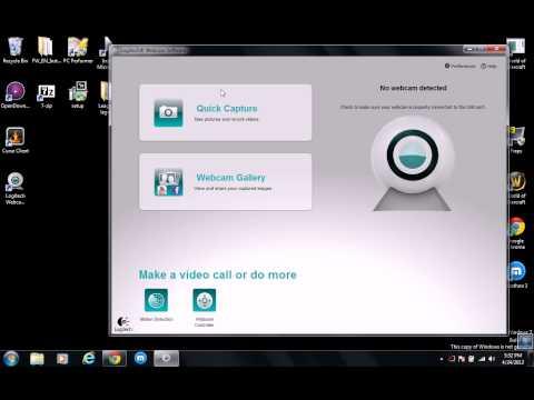 [Tutorial]: How To Set-up the Logitech Webcam (C110)