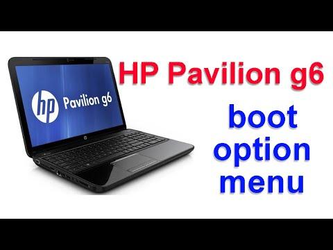 إقلاع لابتوب أتش بي hp pavilion g6 من السواقة boot hp pavilion g6 from dvd cd
