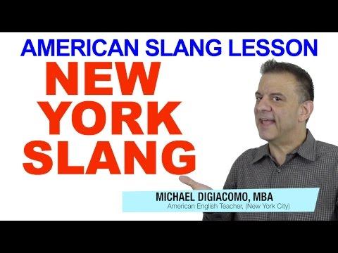New York Slang - American Slang English Lesson