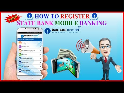 How to register SBI Mobile Banking Step By Step in Hindi | SBI FREEDOM