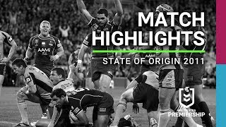 NRL 2011 | Origin Game 3 Highlights | Maroons V Blues