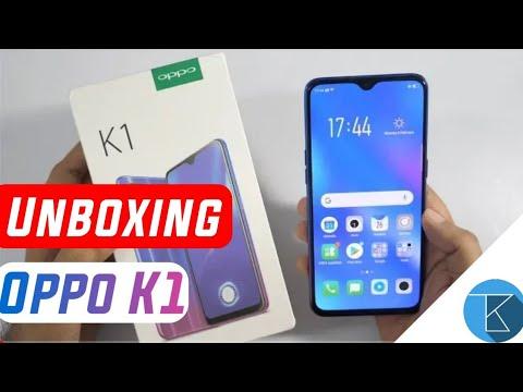 Unboxing Oppo K1 Smartphone - Cheapest In-display Fingerprint sensor 😲😲  Techno Buzzer