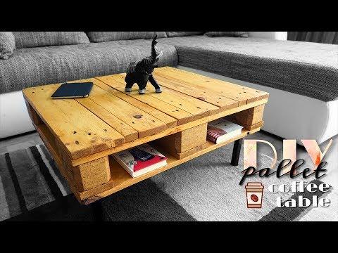 DIY - pallet & coffee table again