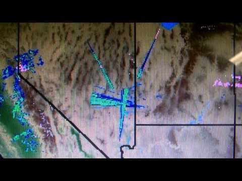 Strange Weatherbug Radar HAARP Abnormalities Over Nevada