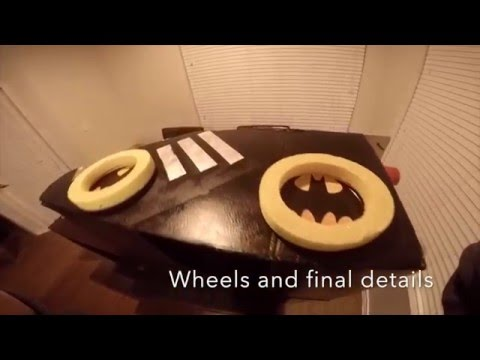 Cardboard Batman Car