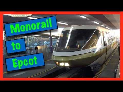 DVCguys | Full Monorail Ride to Epcot (unedited)