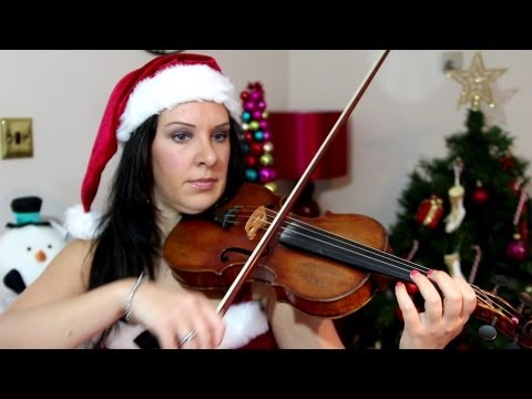 SILENT NIGHT | Easy Violin CHRISTMAS TAB Tutorial.