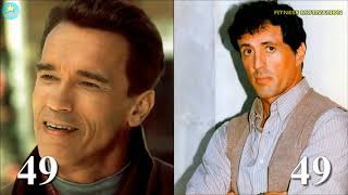 Arnold Schwarzenegger Vs Sylvester Stallone Transformation