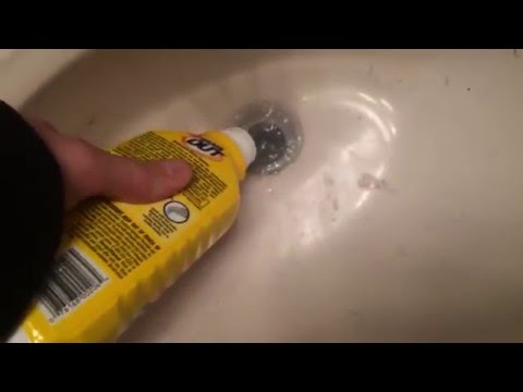 How To Fix CLOGGED Bathroom Sink