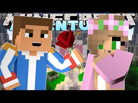 Minecraft - Little Kelly Adventures : MY FIRST KISS!