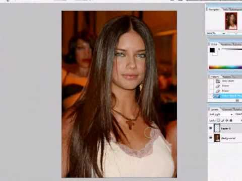 How To Change Hair Color In Photoshop CS2