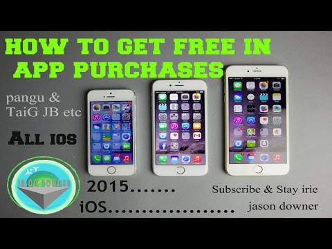 iOS 8.3/8.4 HOW TO GET FREE IN-APP PURCHASES ALL I-DEVICES 2015