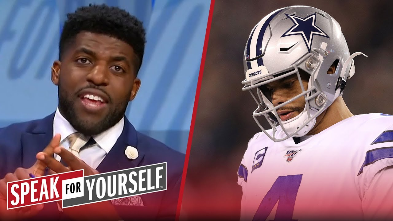 Dak is under more pressure than Cowboys to get deal done — Emmanuel Acho | NFL | SPEAK FOR YOURSELF