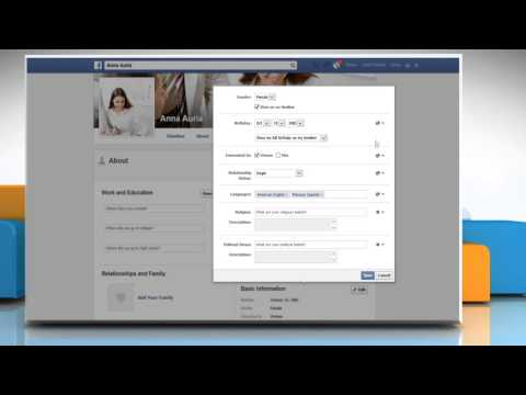 How to make your Facebook personal information private