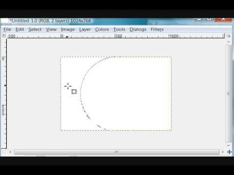 GIMP and OpenOffice Impress Create Presentation Part1
