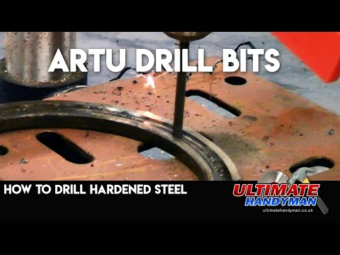 How to drill hardened steel | Artu Drill bits